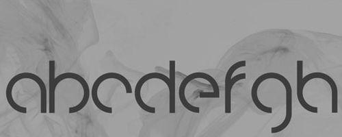Fuentes frescas y modernas pra tus diseños: Fuente Knarf Free