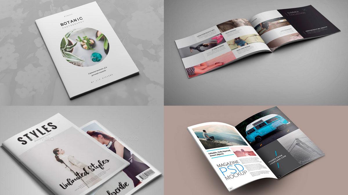 Plantillas de revistas
