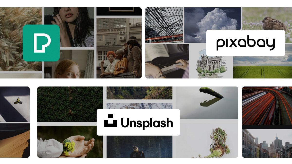 sitios web de fotos gratis