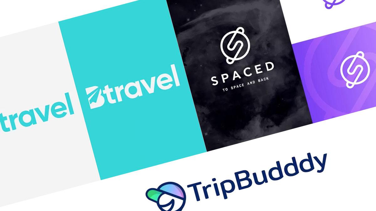 Logos de viajes modernos