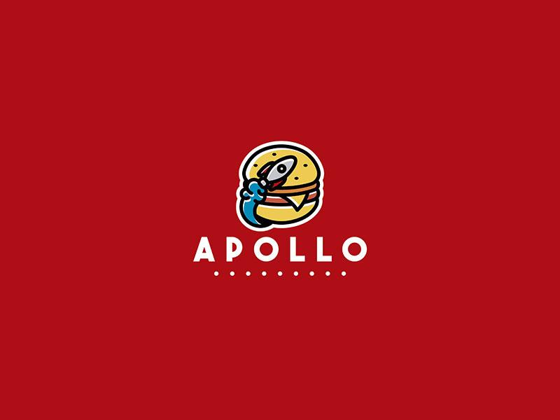 Logotipo de Apollo Burgers