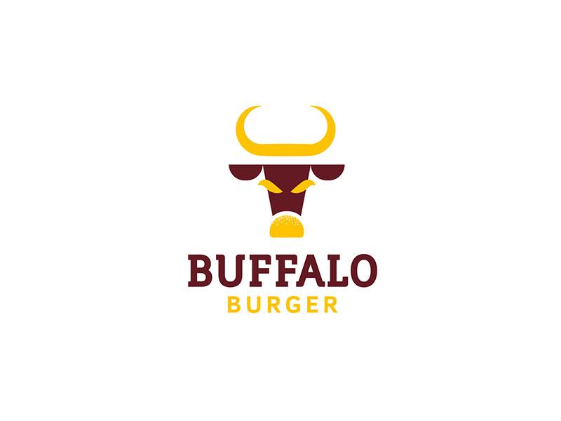 Buffalo Burger - diseño de logotipo
