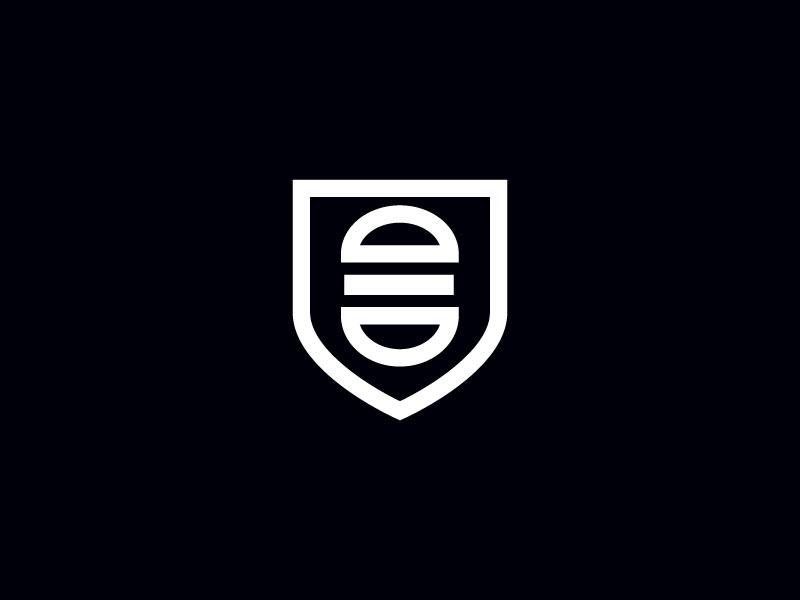 Ideas Logotipos de Hamburguesas: Logotipo de la empresa de hamburguesas