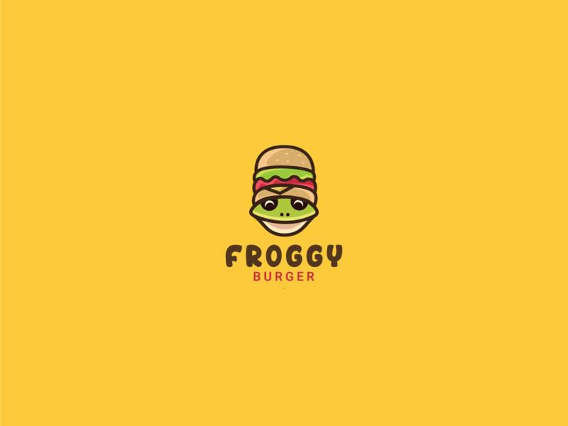 Logotipo de Froggy Burger
