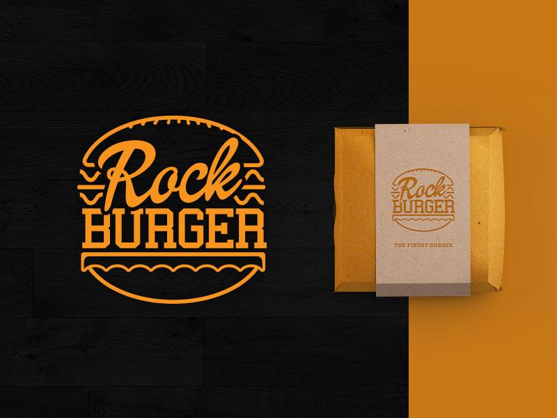 Logotipo de Rock Burger