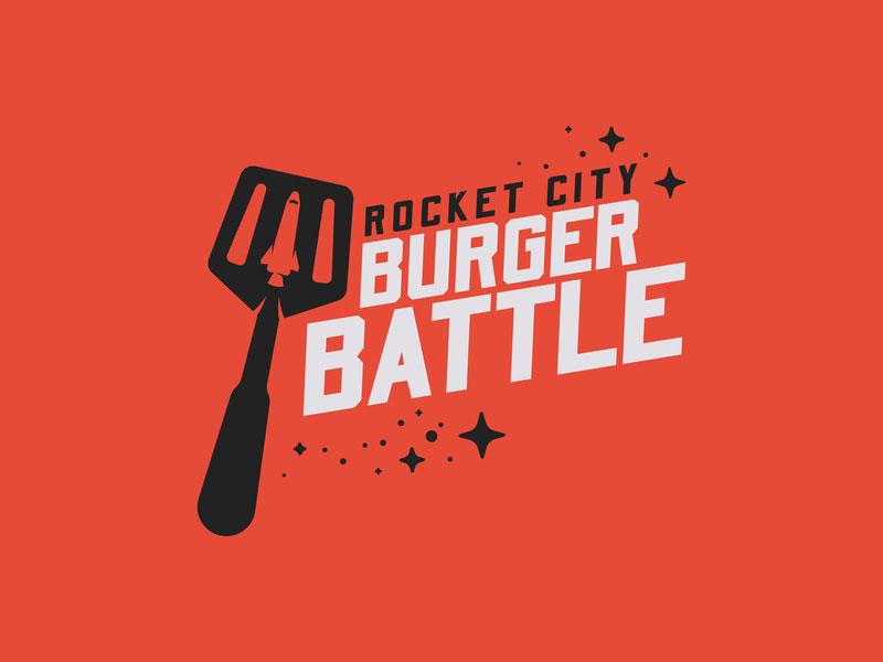Rocket City Burger Battle - Logotipo oficial