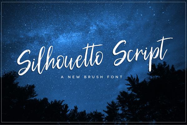 Fuentes de firma gratis: Silhouetto Script Free