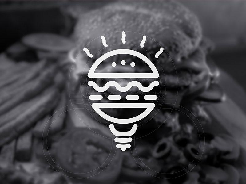Logotipo de THE BURGER THEORY