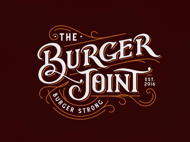 El logotipo de Burger Joint
