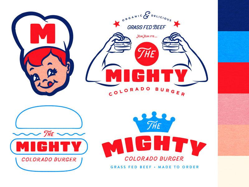 Logotipo de The Mighty Colorado Burger