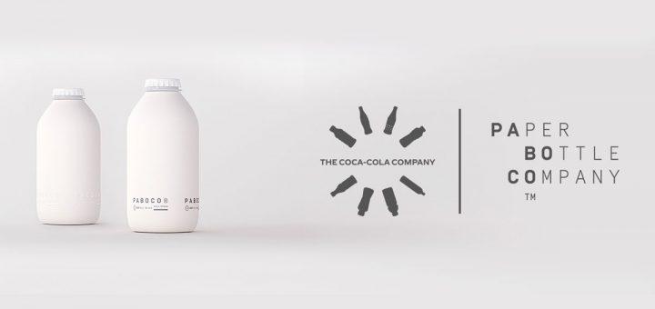 Botellas de papel de Cocacola