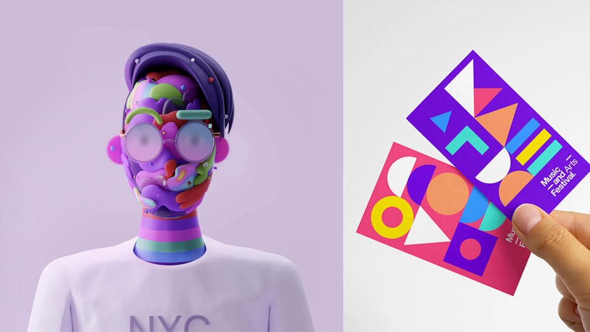 Tendencias de diseño gráfico 2021