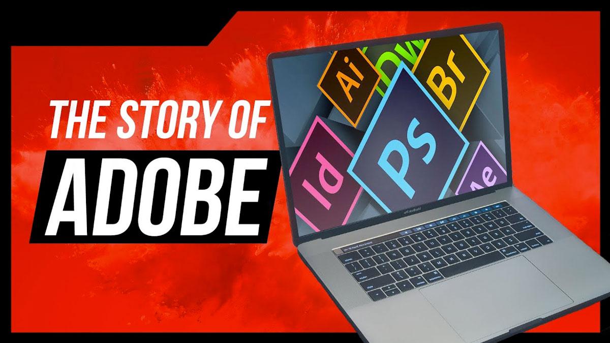 Historia del logotipo de adobe