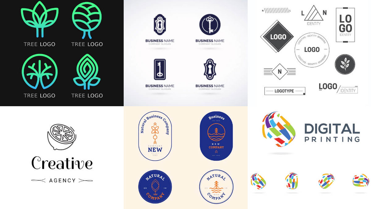 Plantillas Logotipos gratis