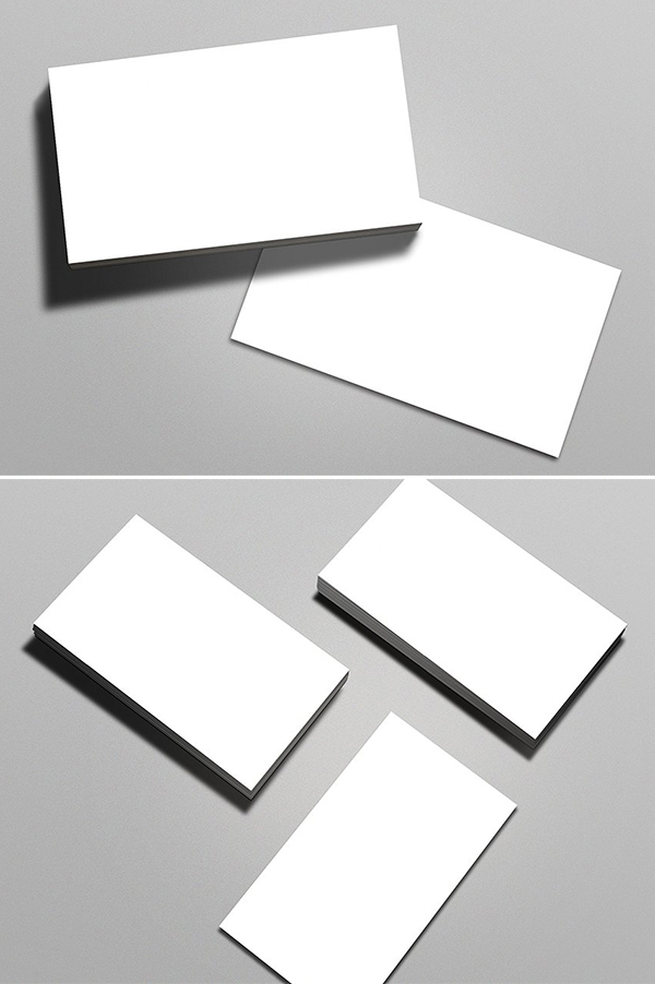 Maqueta de tarjeta de visita limpia