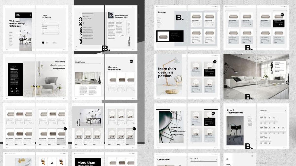 Catálogos en indesign editables