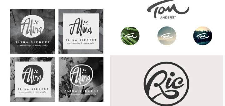 ejemplos de logo de marca personal