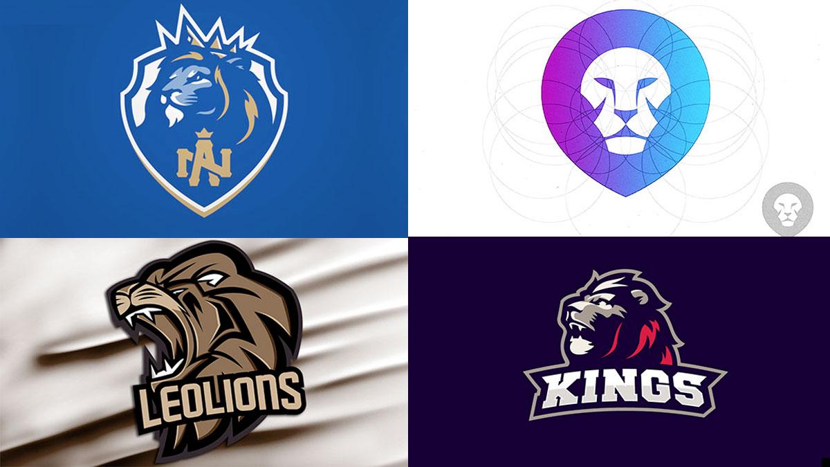 ideas de Logotipos con leones