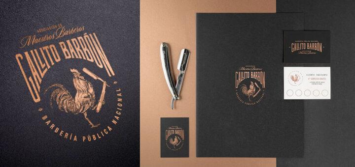 Ideas y ejemplos para logos de Barberías