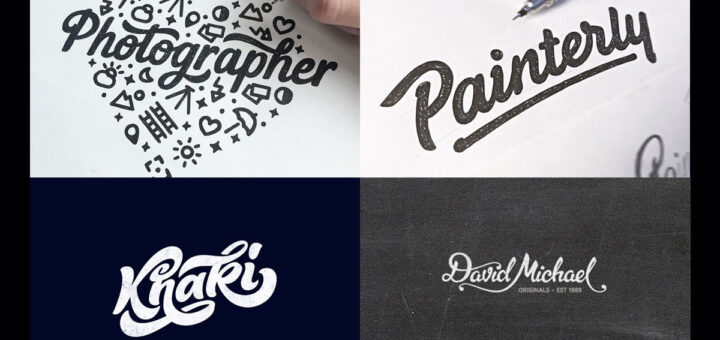 Logotipos con letras entrelazadas