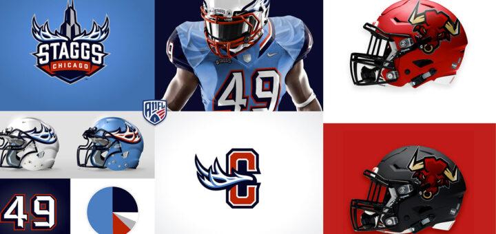 Logotipos e imagen corporativa fulbol americano