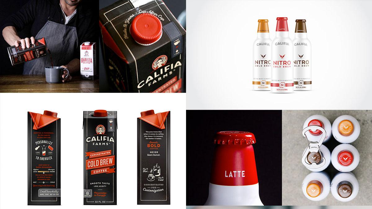 Logos, marcas, envases de café