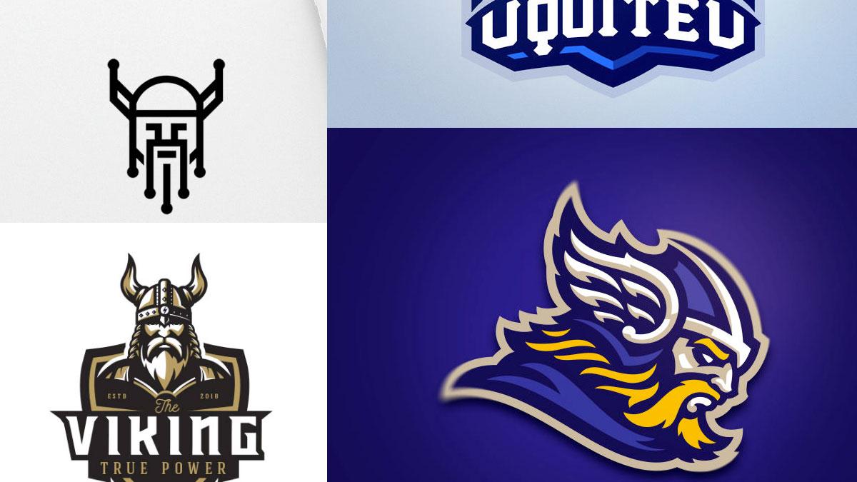Logotipos de guerreros ninjas