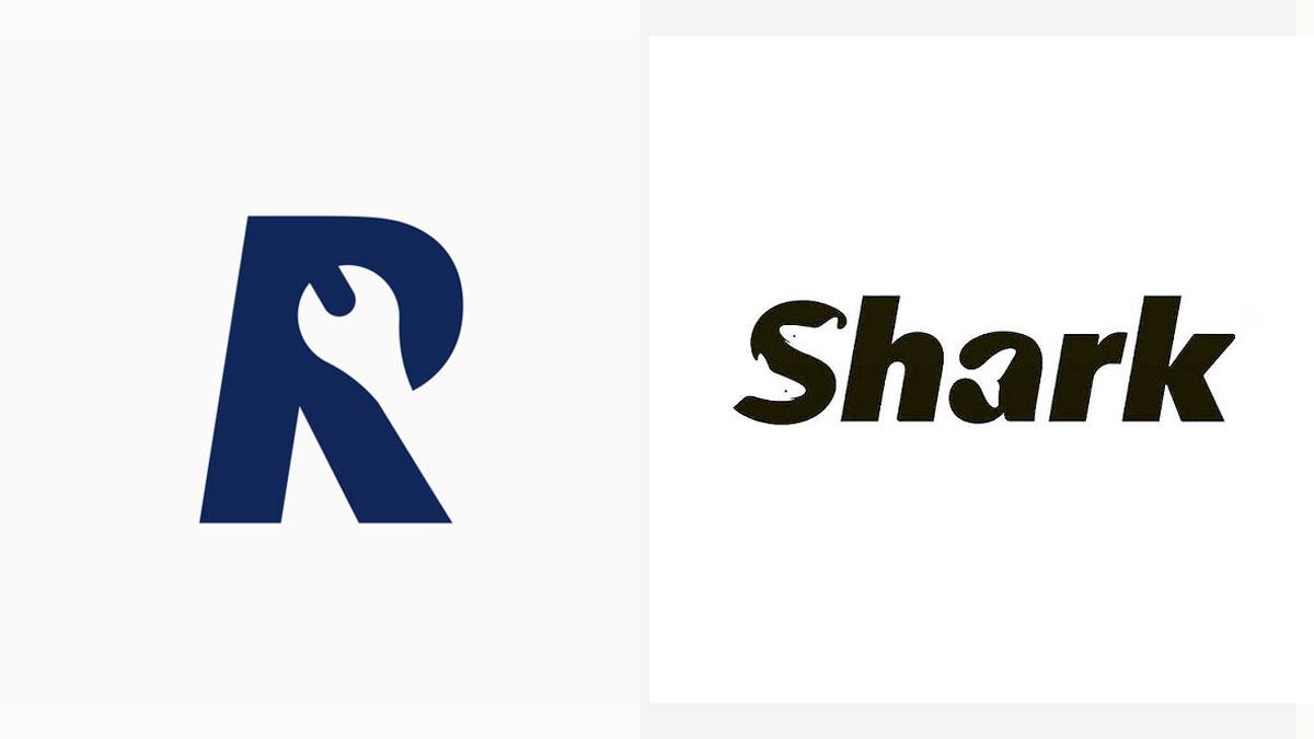 Logotipos inteligentes con espacio negativo