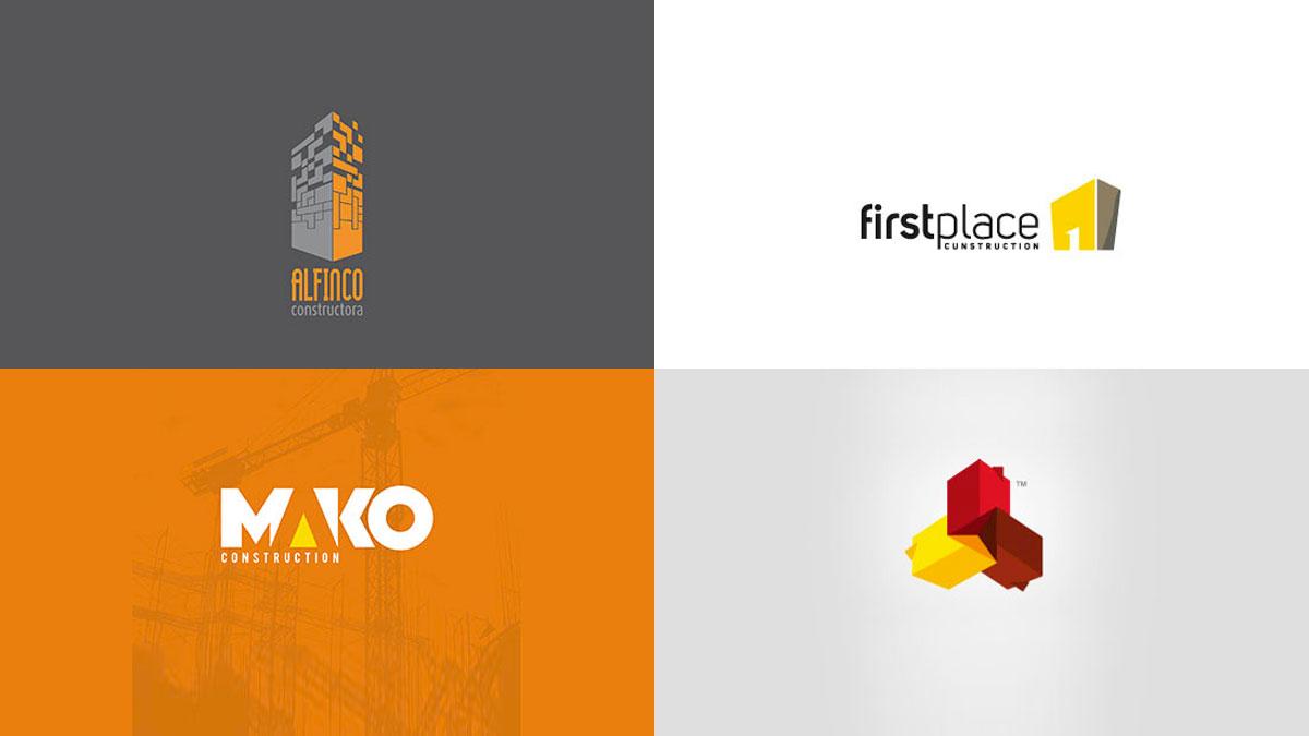Logotipos para empresas constructoras