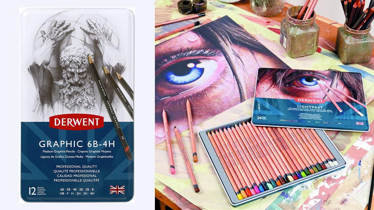 Mejores lápices de colore, sombrear, portaminasa