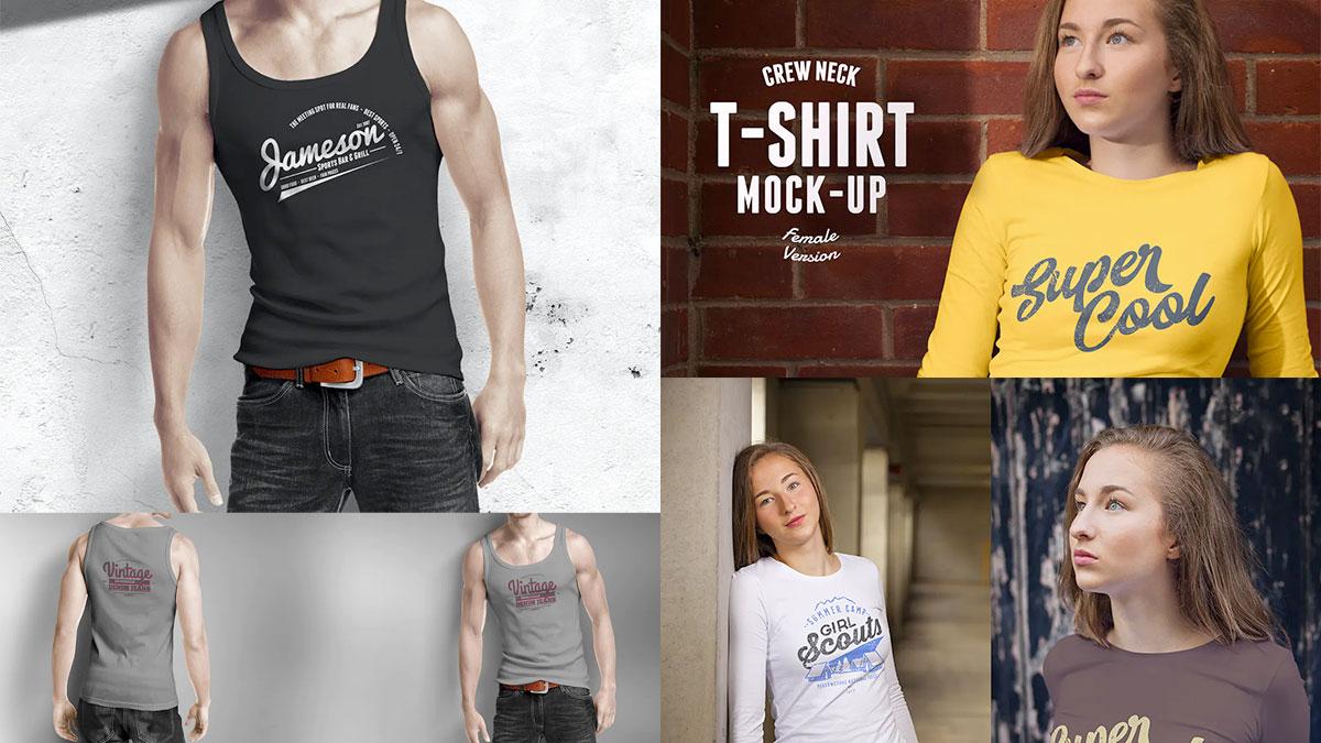 Plantillas de camisetas gratis y pagos